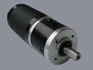 42mm Round Brushless Motor with 40mm Planetary Gearbox